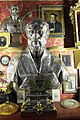 Busto reliquiario di s. filippo neri, argento, xviii sec..JPG