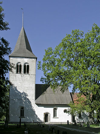 Buttle Church - Image: Buttle kyrka view 1