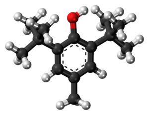 Butylated hydroxytoluene - Image: Butylated hydroxytoluene 3D ball