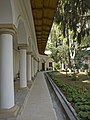 Buzău Bishopric complex Colonnade of the Palace.jpg