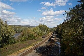 Delaware Township, Juniata County, Pennsylvania - Along the Juniata River across from Thompsontown
