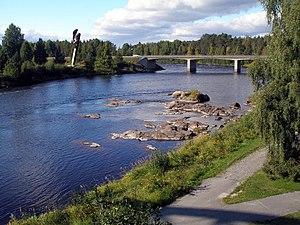 Byske (river) - Image: Byskealven e 4