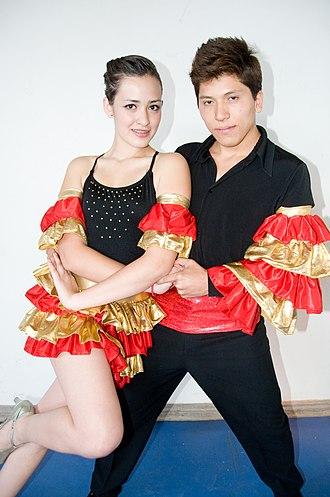 Mambo (dance) - Mambo Dancers at the ITESM Campus Ciudad de Mexico.