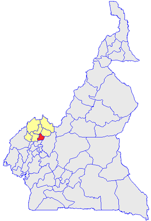 Нго-Кетунджиа на карте