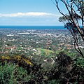 CSIRO ScienceImage 4514 Southern suburbs of Adelaide viewed from the Windy Point Lookout SA 1989.jpg