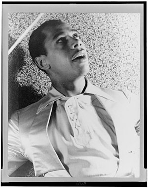1933 in jazz - Portrait of Cab Calloway (December 25, 1907–November 18, 1994) American jazz singer and bandleader, by Carl Van Vechten