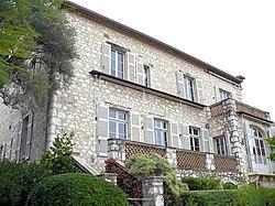 Cagnes-sur-Mer - Musée Renoir - Maison -1.JPG