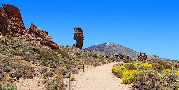 Roques de García, Roque Cinchado, and Mount Teide, Tenerife
