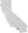 California county map (Orange County highlighted).svg