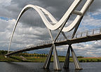 Calm before the storm, Infinity Bridge.jpg