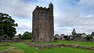 Cambuskenneth Abbey - The bell tower of Cambuskenneth Abbey