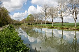 Canal Bourgogne vers Fulvy