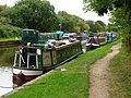 Canal boats at Parbold - geograph.org.uk - 1492308.jpg
