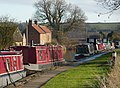 Canal boats near Field Farm - geograph.org.uk - 1618953.jpg
