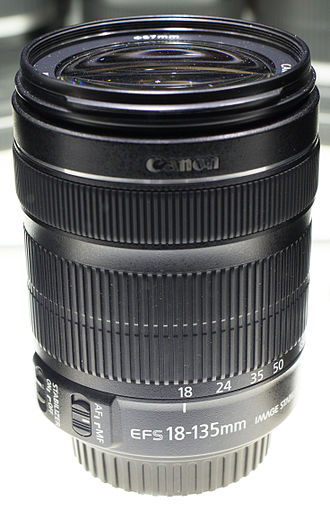 Canon EF-S 18–135mm lens - Image: Canon EFS 18 135 STM