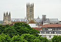 Canterbury Cathedral from Dane John Garden.jpg