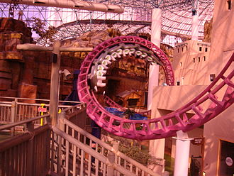 Adventuredome - Image: Canyon Blaster