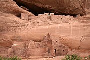 Canyon de Chelly White House Ruin Close View 2006 09 07