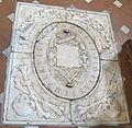 Cappella della compagnia di s. luca, int, montorsoli, lapide tomba comune artisti 01.JPG