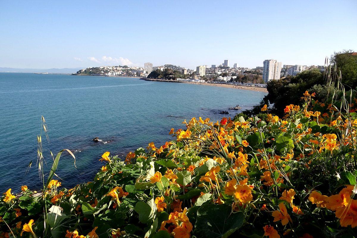 Baie d'Annaba, ville d'algérie