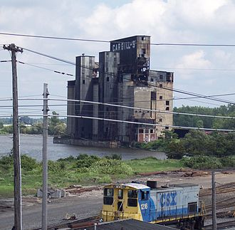 Rust Belt - A disused grain elevator in Buffalo