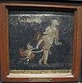 Caricatura di enea, anchise e ascanio in fuga da troia, da stabia, I sec, 9089.jpg