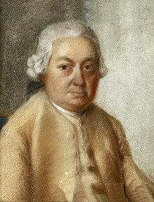 Carl Philipp Emanuel Bach, gemalt von seinem Neffen sechsten Grades Johann Philipp Bach (Quelle: Wikimedia)