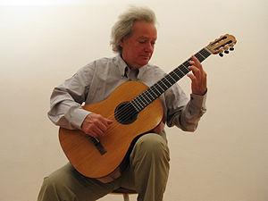 Carlo Domeniconi - Domeniconi with a Luigi Mozzani guitar from 1938
