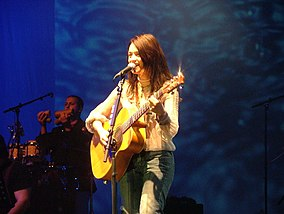 Carmen Consoli nel 2006 a Firenze.
