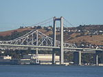 Carquinez Bridge 9-1-2007 From Northeast.jpg