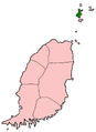 Carriacou in Grenada map.png