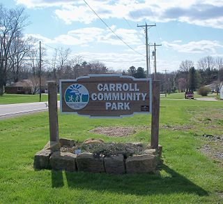 Center Township, Carroll County, Ohio Township in Ohio, United States