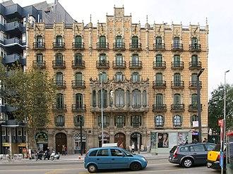 Plaça de Lesseps, Barcelona - Cases Ramos on Plaça de Lesseps.