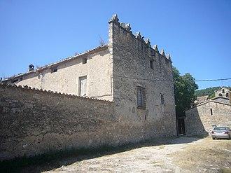 Cabrera d'Anoia - Cabrera castela and church