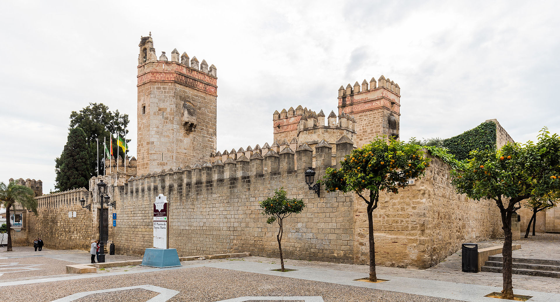Castillo de san marcos wikipedia la enciclopedia libre - El puerto santa maria ...