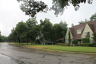 National Register of Historic Places listings in McLennan County, Texas - Image: Castle Heights 1