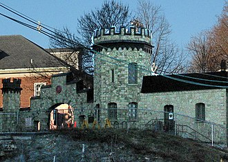 Landmarks of Hoboken, New Jersey - Castle Gatehouse at Stevens Institute of Technology