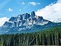 Castle Mountain, Banff National Park of Canada - Alberta by Kdruzhki.jpg
