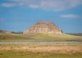Big Muddy Badlands - Castle Butte