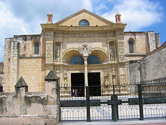 Culture of the Dominican Republic - The Cathedral of Santa María la Menor, Santo Domingo, the first cathedral in America, built 1512–1540.