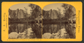 Cathedral Rocks reflected in the water, Yo Semite Valley, Cal, by Reilly, John James, 1839-1894.png