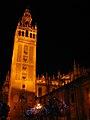 Cathedral at Night, Sevilla, Spain - panoramio.jpg