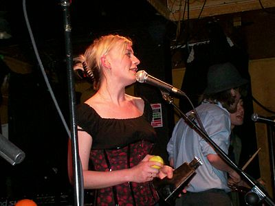Picture of a band or musician: Cathy Davey