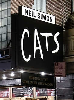 Cats at Neil Simon Theatre in Broadway.jpg