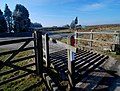 Cattle grid at the junction - geograph.org.uk - 1190442.jpg