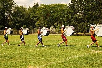 Bass drum - Cavaliers Bassline 2006