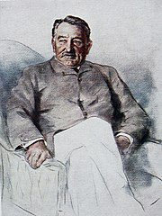 Cecil Rhodes (Sketch by Mortimer Menpes)