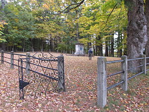 Shirley Shaker Village - Image: Cemetery, Shirley Shaker Village MA