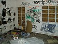 Centaurs RFC stadium - vandalised interior - geograph.org.uk - 1059192.jpg