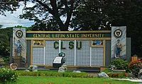 Central Luzon State University main gate
